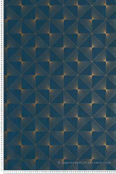 Nouveau Dekostoff feuilles sur bleu 50 x 140