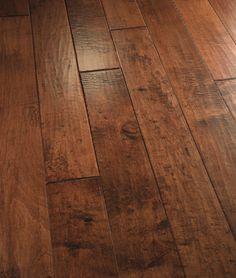100% Hand Scraped hardwood flooring