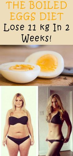The Boiled Eggs Diet Lose 11 Kg In 2 Weeks!