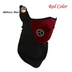 Outdoor Sports Neck Warmers Fleece Balaclavas Skiing Cycling Windproof Protective Half Face Mask Neoprene Hunting Mask 3 Color