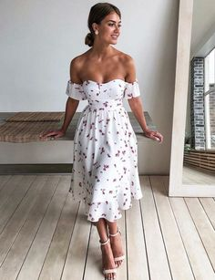 Casual Dresses, Fashion Dresses, Summer Dresses, Pretty Dresses, Beautiful Dresses, Elegantes Outfit Frau, Looks Chic, Classy Outfits, Cute Dress Outfits