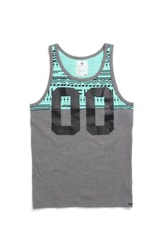 On the byas Henry Printed Jersey Tank Top