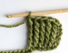 How to Treble Crochet - Crochet 365 Knit Too How To Treble Crochet, Treble Crochet Stitch, Basic Crochet Stitches, Crochet Basics, Double Crochet, Crochet Patterns, Crochet Tutorials, Crotchet, Knit Crochet