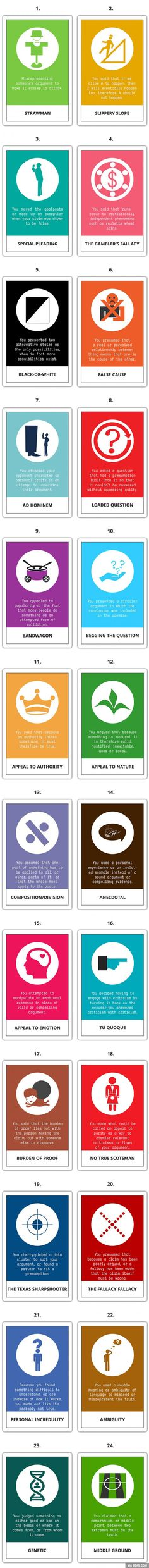 24 Most Common Logical Fallacies That You Should Know And Avoid - 9GAG