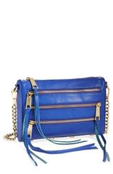 Rebecca Minkoff 'Mini 5-Zip' Crossbody Bag