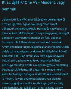 Íme a HTC  One A9  http://www.vizualteszt.hu/blogok/htc-blog/66-itt-az-uj-htc-one-a9-mindent-vagy-semmit.html  #htcmagyarország  #HTC #ONE #A9 #MARSHMALLOW