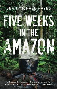 Five Weeks in the Amazon designed by Rory Doyle | JF: A strong cover that cleverly makes the assertive type part of the illustration, drawing us into the image too. And that simmering pot is evocative, it just makes you want to know more. ★