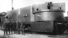 "Artillery wagon of tehe armored train ""Grozny""."