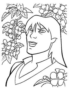 The Magic Sword: Quest for Camelot Coloring pages for kids. Printable. Online Coloring. 23