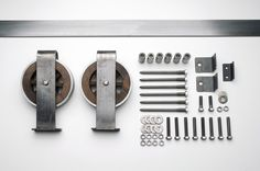 Our barn door hardware is artistically crafted for a creative touch in every home. Which one is your favorite?