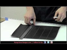 Young Guns Designs - How to sew Pleats PT1 - Automotive Upholstery
