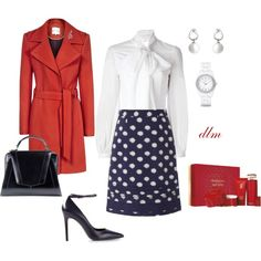 """Red"" by dmiddleton on Polyvore"