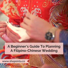 A Beginner's Guide To Planning A Filipino-Chinese Wedding – Sinta & Co. Wedding Blog, Wedding Planner, Our Wedding, Overseas Chinese, Filipino Wedding, Function Room, Shark S, Wedding Activities, Rich Life