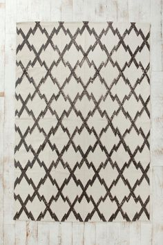 Magical Thinking Diamond-Stamp Rug  #UrbanOutfitters
