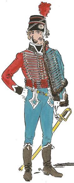 Húsares de Iberia 1808