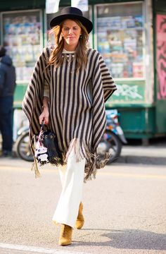 30 Street Style Fringe Trend For Fall/Winter 2016 - Fashion Craze