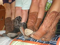 Cowboys boots- great for girls nights out!