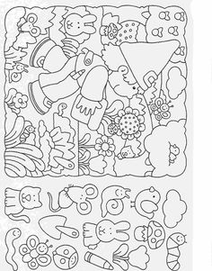 Elementary School Worksheets Complete and coloring 25 Printable Activities For Kids, Preschool Worksheets, Kindergarten Activities, Teaching Kids, Kids Learning, Teaching Spanish, Puzzle Photo, Hidden Pictures Printables, Hidden Picture Puzzles