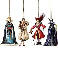 Disney® Jim Shore Villains Set