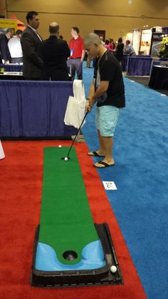 Day two of the ‪#‎BOMA2014‬! Conference.  Come by and say Hello and Play some miniature Golf Booth#1713.  Ben is here from our allied Partner AFS General Contracting, LLC too!  ‪#‎AmericanFacilityServices‬  ‪#‎GaylordPalms‬  ‪#‎Boma2014Show‬!