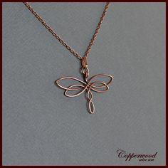 Celtic Wire Jewelry, Wire Jewelry Making, Handmade Wire Jewelry, Handmade Copper, Handmade Necklaces, Diy Jewelry, Stone Jewelry, Photo Jewelry, Jewelry Ideas