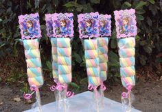 Sofia the First Marshmallows Party Favors                                                                                                                                                     Mais