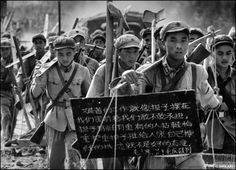 Soldiers participating to a road construction, Nanning province, 1965 Marc Riboud, Mao Zedong, North Vietnam, Moving To Paris, French Photographers, Magnum Photos, Travel Photographer, One Pic, China