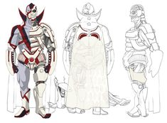 New Destroyman Concept - Pictures & Characters Art - No More Heroes 2: Desperate Struggle