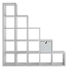 Librerie componibili - Cubi bianchi