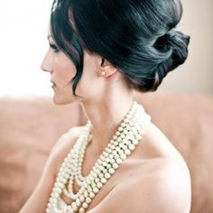 The most remarkable wedding hairstyles from the web. Beachy, formal, contemporary, bohemian… we have it all!