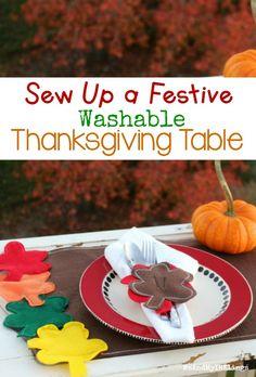 DIY Thanksgiving Tab
