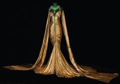 Cleopatra.  Costume for Claudette Colbert.