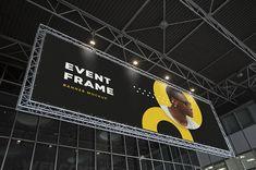 Event Frame Banner Mockup Free Download