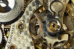 Vintage Watch Gears Macro Shot Royalty Free Stock Photo - Image: 16577565