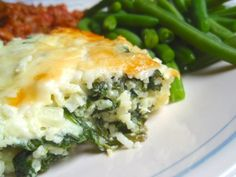 Cheesy Spinach Rice