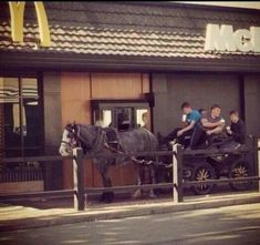 These lads casually getting their McDonalds in Keighley. | The 29 Most Yorkshire Things That Have Ever Happened