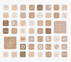Iphone App Design, Iphone App Layout, Boho Aesthetic, Aesthetic Themes, Iphone Icon, Iphone 6, Iphone Wallpaper App, New Ios, Apps