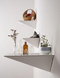 Cardboard shelf - foldtheory.com