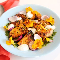 Recipe: chargrilled butternut squash salad on Khoollect