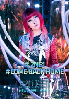 2NE1 release 'Come Back Home' MV stills | Minzy