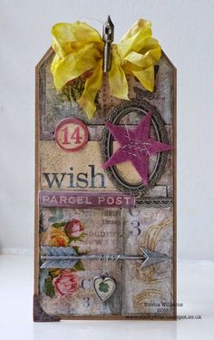 That's Life: Wish Upon A Star ~(Tim Holtz 12 Tags of 2015)