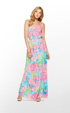 Lilly Pulitzer Summer '13- Tria Dress in Turquoise Lets Cha Cha $158