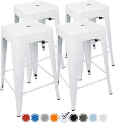 Ideas For Bar Stools For All White Kitchen Images In 2020 Bar