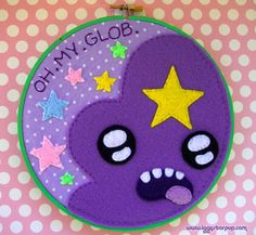 Lumpy Space Princess embroidery hoop is now up for grabs! Find...