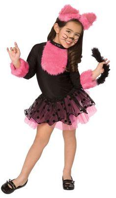 Girlu0027s Cutie Cat Costume - Medium  sc 1 st  Pinterest & Amazon.com: Toddler Tutu Cat Costume: Clothing | costume ideas ...