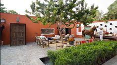 Armando Andrade's house in Mamacona.