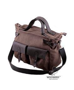 Men's bag messenger canvas bag canvas men's bag by tmWigwag €88