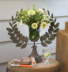 A very Greek-esque Laurel Wreath Vase, $79.95.