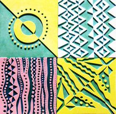Printing with Gelli Arts®: Making Foam Texture Plates for Gelli Printing!