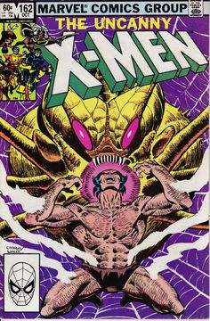 Uncanny X-Men 162 January 1983 Issue Marvel Comics by ViewObscura